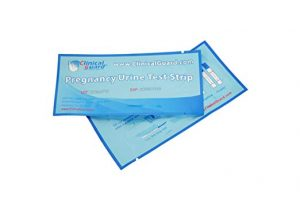 small foto of Clinical Guard hCG Pregnancy Test Strips