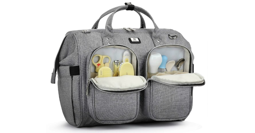 gray-diaper-bag