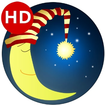 Lullaby for Babies app logo\