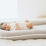 baby in the co-sleeper
