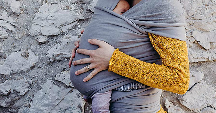 Newborn Baby and its mom